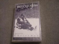 SEALED RARE PROMO Bruce Cockburn CASSETTE TAPE Christmas sampler T-Bone Burnett