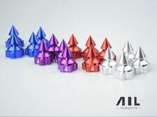 Aluminum sharp thorn locking dust proof nut wheel cover cap losi 5ive-t DBXL 4pc