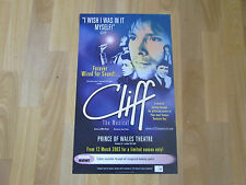 CLIFF Richard the Musical 2003 PRINCE of WALES Theatre Original Poster