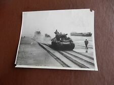DDAY original WW2 photograph General Leclerc's 2nd Armoured Division Free French