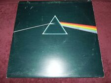 Pink Floyd Dark Side Of The Moon 1973 UK Harvest Solid Blue Prism W/ All Inserts