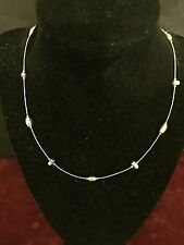 Silpada liquid sterling silver nuggets necklace N1291 Retired!