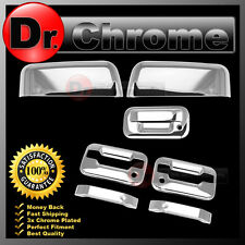 04-08 Ford F150 Chrome TOP HALF Mirror+2 Door Handle+no keypad+KH+Tailgate Cover