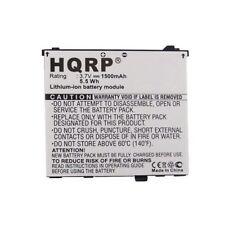 HQRP 1500mAh Battery for Acer Liquid A1, E, E Plus, E400, S100, Stream