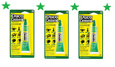 Lot/3 1oz DUCO CEMENT Multi Purpose Household Glue Clear Crafts China Wood 62435
