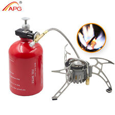 Outdoor Portable Camping Stoves Picnic Gasoline Propane Gas Multi Fuel Stove APG