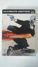 LE TRANSPORTEUR - DVD - ULTIMATE EDITION - STEELBOOK 2 DVD - Jason Statham