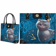 Cheshire Cat Handbag Purse Tote Charms Alice Through Looking Glass Disney Store