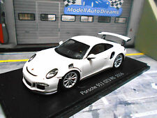 PORSCHE 911 991 GT3 RS 2016 white weiss NEU Spark Resin Highenddetail 1:43