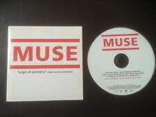 "MUSE ORIGIN OF SYMMETRY GERMAN/MOTOR ""BLEEB"" PROMO CD **EXCELLENT CONDITION**"