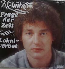 """7"""" AUSTROPOP 1981VG++ WOLFGANG W. AMBROS Frage der Zeit"""