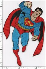 """5 Pcs Embroidered Iron on patches Superman Big Badge 5.12""""x7.68"""" AP012bB"""