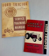 LOT FORD NAA GOLDEN JUBILEE TRACTOR SERVICE SHOP OWNERS OPERATORS MANUALS REPAIR