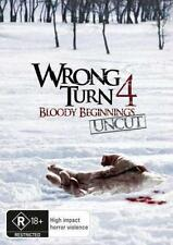 WRONG TURN 4 : BLOODY BEGINNINGS : NEW DVD