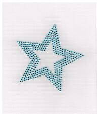 Star RHINESTONE IRON-ON BLING TRANSFER You Choose Color DIY Applique