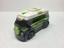 LEGO, CITY,  Ultra Custom VW Bus,Brand New! Volkswagon Rally Racer #21 Lime