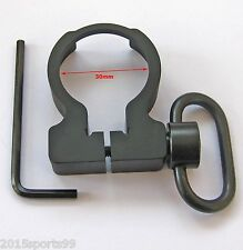 New Quick Detach QD Sling Swivel Clamp-on Single Point Sling buffer tube Adapter
