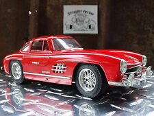 Bburago 1954 Mercedes 300 SL Red 1:18 Scale Die Cast Touring Model Italy Car
