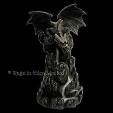 *DRAGON* Backflow Incense Tower Resin Figurine (20cm)