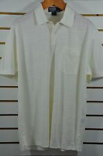 Men's Polo Ralph Lauren, LTWT LINEN Pique Pocket Polo, Sz M, Armpit 22""