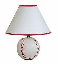New Children BASEBALL TABLE SPORTS LAMP LIGHT & shade FOR ROOM