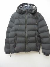 NEW BURBERRY MEN'S OLIVE LOGO DOWN FILLED HOODED PUFFER PARKA JACKET COAT VEST
