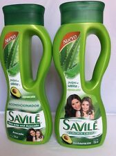 2pack Savile Shampoo & Conditioner Restoration Aloe Avocado 25.33oz For Dry Hair