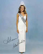REPRINT - MISS UNIVERSE USA 1980 SHAWN WEATHERLY 1 autographed signed photo copy