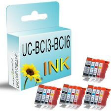16 Ink Cartridge Replace For BCI3 BCI6 Bubble Jet i560 i865 Pixma iP3000 MP780
