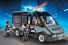 PLAYMOBIL 6043 CITY ACTION furgone con 2 poliziotti