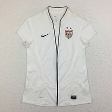 Nike Pro Cut USWNT USA 2011/12 World Cup Soccer White Home Jersey Women Small S
