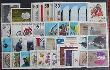 Germany Complete Year 1983 Stamp Set MNH German Stamps Mint Never Hinged