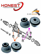 For TOYOTA PREVIA 2.0 2.4 3.5 VVTI D4D 01-06 STEERING RACK BUSH 4 Pce By Karlman