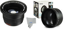 58MM 2x ZOOM +X.42 FISHEYE MACRO LENS FOR CANON EOS REBEL T3 20D 40D T3 T3I T4