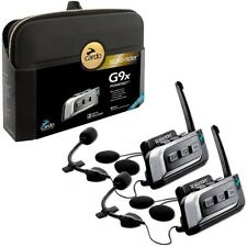 New Cardo Scala Rider G9x Powerset Motorcycle Bluetooth Intercom Multiset Pack