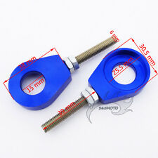 Blue 15mm Chain Adjuster Tensioner For 50cc 90 110cc 125cc 150cc Dirt Motor Bike