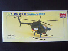 ACADEMY Minicraft 1645 Hughes 500-D Anti-Sub-Helicopter 1:48 Neu in OVP/Kombiver