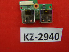 Original HP Compaq Presario cq61 USB Board placa #kz-2940