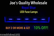 (7)LED FUSE LAMP ROYAL BLUE/8V-RECEIVER/2275/STEREO-SX-636/8080/DIAL/METER/4420