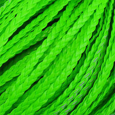 5 M de cordón plano trenzado cuero de imitación creación DE pulsera infinity