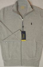 Polo Ralph Lauren Zip French Rib Performance Sweatshirt Jacket M Medium NWT $115