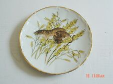 A J L Giftware Stoke On Trent England Field Mice Collectors Plate