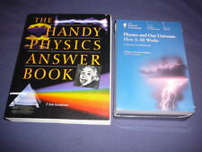 Teaching Co Great Courses DVDs       PHYSICS  AND OUR UNIVERSE      new + BONUS