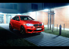 "2016 AC SCHNITZER BMW X6 FALCON NEW A4 CANVAS ART PRINT POSTER 11.7"" x 8.3"""