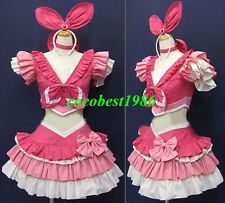Cure Melody Cosplay from Suite PreCure from Strawberry Panic top skirt head wear
