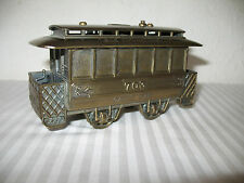 San Francisco Cable Car Vintage Cigarette Lighter 703 Brass Metal Made in Japan