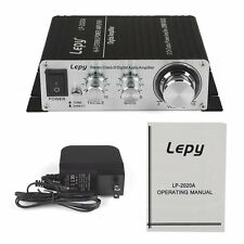 Lepy LP-2020A Tripath Class-D Hi-Fi Audio Amplifier w/ Power Supply On sale