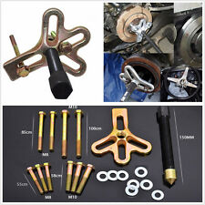 21 Pcs Metal Car Harmonic Balancer Steering Wheel Puller Crankshaft Removal Kit