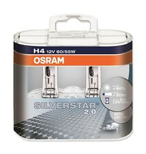 OSRAM 64193sv2-hcb silver ® 2.0 h4 Duobox p43t feux de croisement/phare longue portée