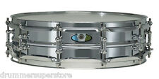 Ludwig Supralite Snare Drum Steel Shell with Tube Lugs 4x14""